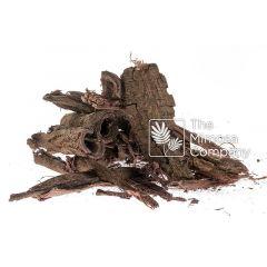 Corteza de raíz de Mimosa tenuiflora (Tepezcohuite) en trozos para compras al mayoreo y menudeo